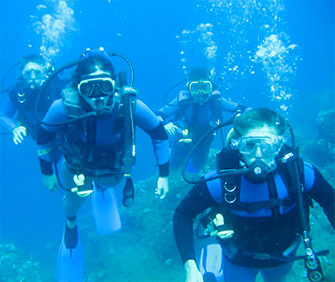 Sport: diving and snorkeling on the island of Elba