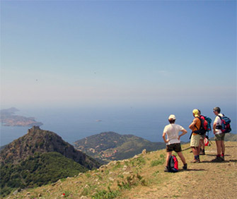 Sport: trekking on the Island of Elba