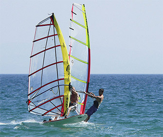 Sport: windsurf e kitesurf all'Isola d'Elba